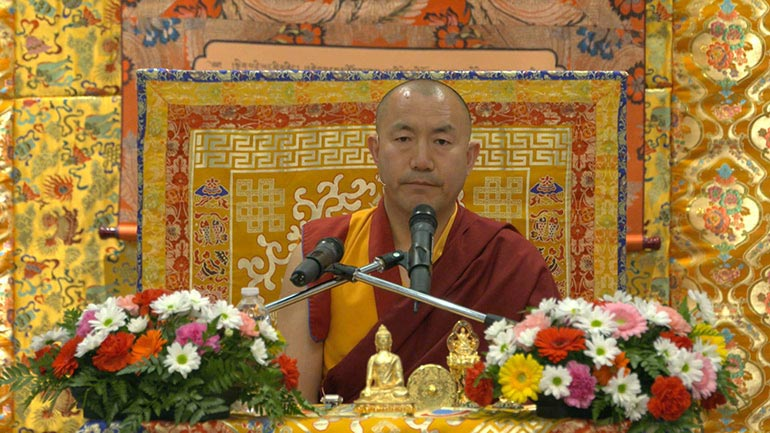 The Three Principal Aspects of the Path – the Core of Buddha's Teaching(1)