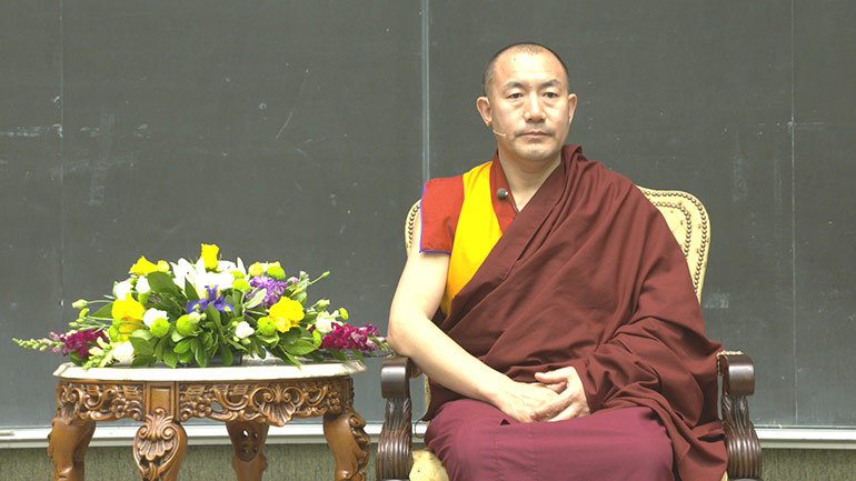 2016 Teaching Series in Canada Creating a Compassionate World:A Tibetan Buddhist Perspective