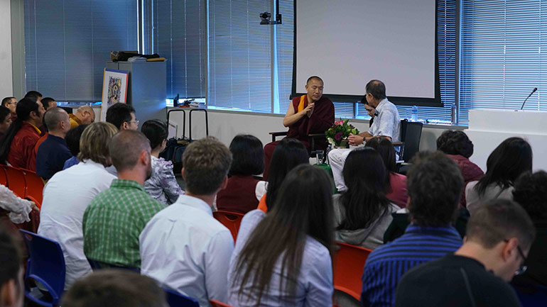 Khenpo Tsultrim Lodro & David Presti- - The Scientist & the Monk- - Talks at Google