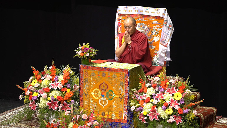 Khenpo Tsultrim Lodro – 2017 Teaching Series in the USA – Hit the Road! Let's Leave Samsara1