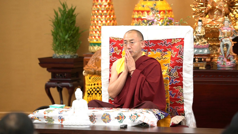 Khenpo Tsultrim Lodro – 2017 Teaching Series in the USA – Obtaining Benefit Through Buddhist Practice in Modern Life 2