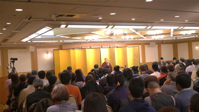 2018日本講演 仏教をどのようにして学ぶべきか