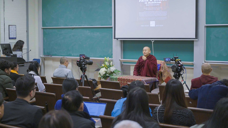 Khenpo Tsultrim Lodro - 2018 Teaching Series in the USA - Faith & Reason in Buddhism