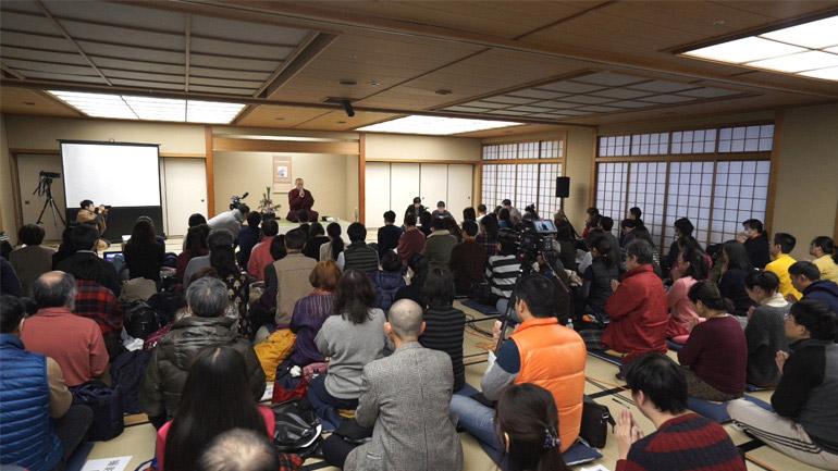 2018日本講演 仏教のシャマター瞑想法(上)