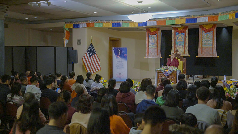 Khenpo Tsultrim Lodro-2018 Teaching Series in the USA-How to Triumph over Anger I