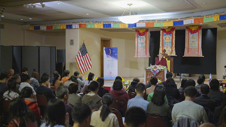 Khenpo Tsultrim Lodro-2018 Teaching Series in the USA-How to Triumph over Anger II