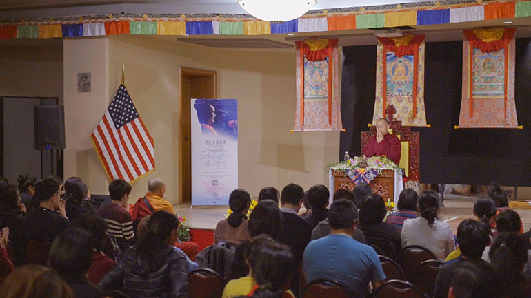 Khenpo Tsultrim Lodro-2018 Teaching Series in the USA-We Are All Diamonds in the Rough