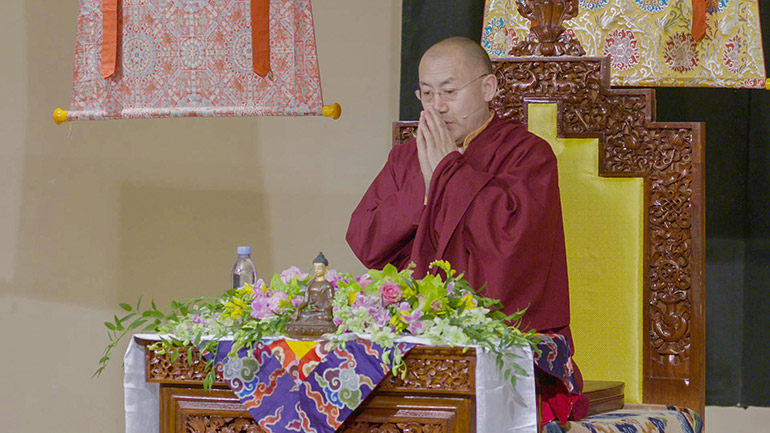 Khenpo Tsultrim Lodro-2018 Teaching Series in the USA-Guided Session on Compassion Meditation