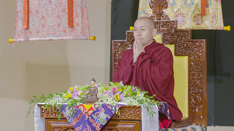 Khenpo Tsultrim Lodro - 2018 Teaching Series in the USA - The Three Principles of the Path Part 2