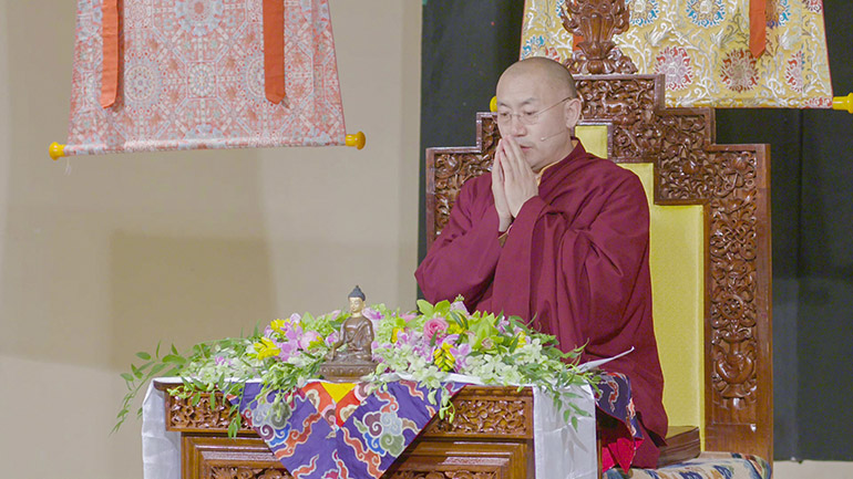 Khenpo Tsultrim Lodro - 2018 Teaching Series in the USA - Basic Instruction on Meditation